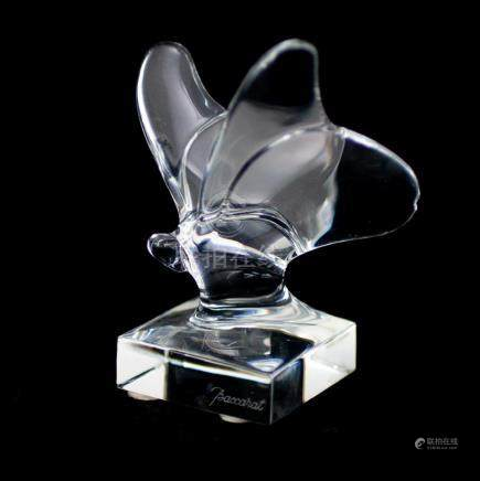 Baccarat Crystal Butterfly Figurine