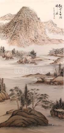 陈彩金   山水