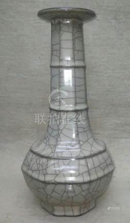 官窯八角瓶
