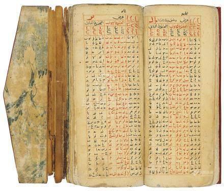 ATTRIBUTED TO 'ALA AL-DIN ABU'L-HASAN IBN 'ALI IBN IBRAHIM IBN MUHAMMAD AL-MUT'IM AL-ANSARI AL-FALAKI AL-DIMASHQI KNOWN AS IBN AL-SHATIR (D. 1375 AD): JADWAL