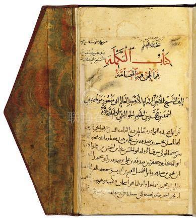 ABU MANSUR MAWHUB IBN AHMAD IBN MUHAMMAD IBN AL-KHADHR IBN AL-JAWALIQI (D. 1144 AD): KITAB AL-TAKMILA FIMA YALHANU FIHI AL-'AMMA