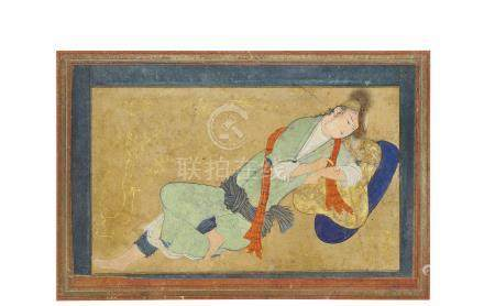 A RECLINING YOUTH