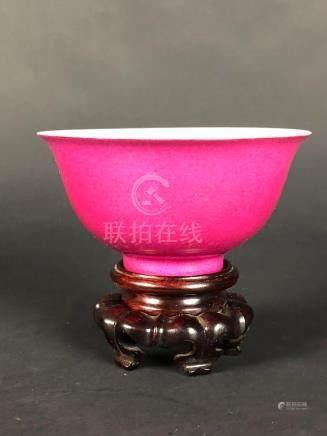 Pink Glazed Bowl
