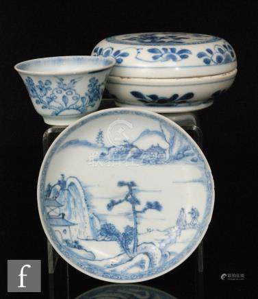 A collection of Chinese 18th Century shipwreck cargo porcelain,
