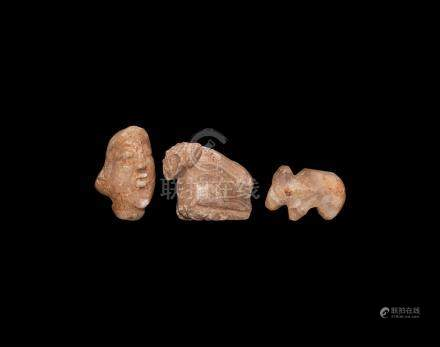 Western Asiatic Animal Amulet Collection