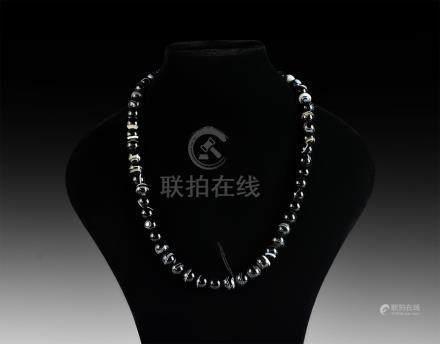 Tibetan Prayer Bead Necklace