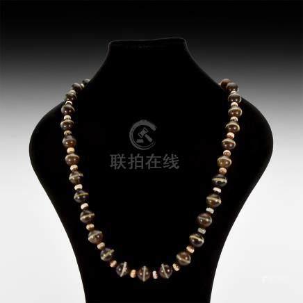 Tibetan Buddhist Bead Necklace
