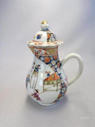 NICE CHINESE 18 TH C. EXPORT FAMILLE ROSE JAR