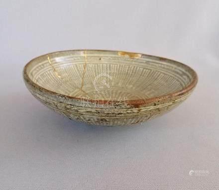Very old Korea pottery bowl, Joseon dynasty.