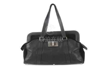 Chanel Black Grande Shopping XXL, c. 2006-08, fabric