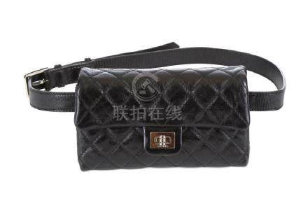 Chanel Black Reissue Mini Waist Bag, c. 2008-09,