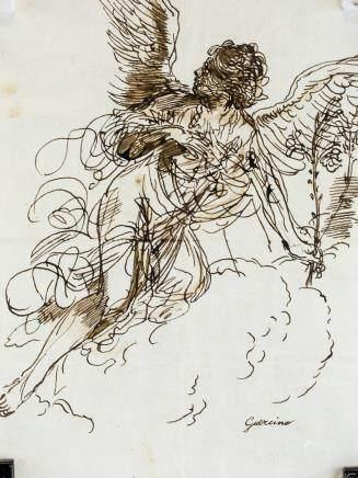 Guercino Italian Baroque Ink on Paper
