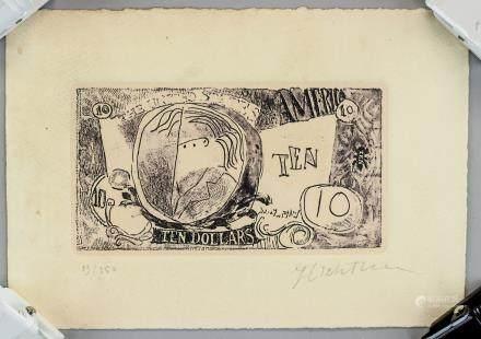 Roy Lichtenstein US Pop Art Linocut 13/150 Signed