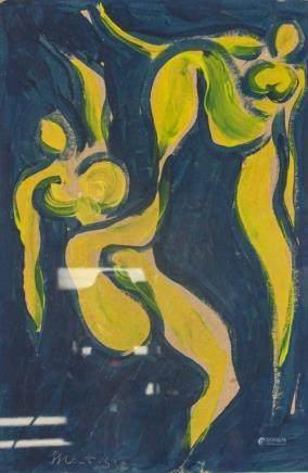 Henri Matisse French Fauvist Oil on Board