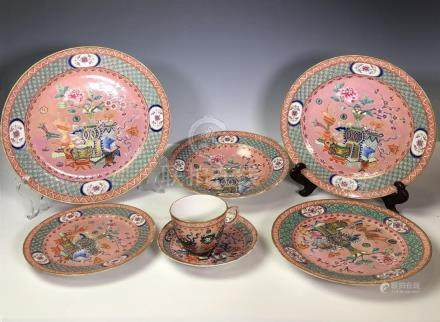 19th Century Chinese Export Porcelain Set