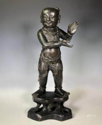 Ming Dynasty Bronze Figure