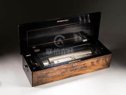 Swiss Vintage Cylinder Mechanical Music Box