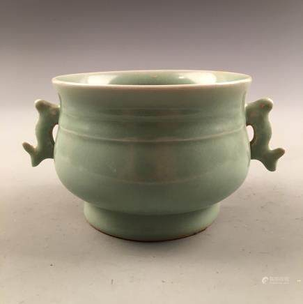 Chinese Longquan Kiln Porcelain Censer