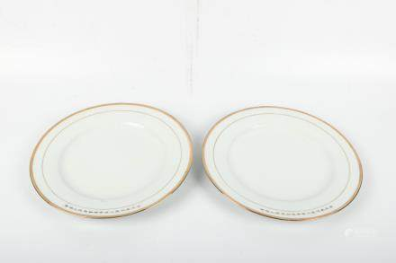 A Pair of Chinese Porcelain Plates