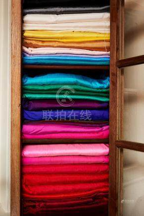 Collection of Thai Silk and Cotton Fabric