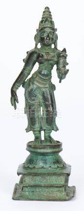 Antique Bronze Bhu-Devi, India, ex Marshall P. Blankarn Coll