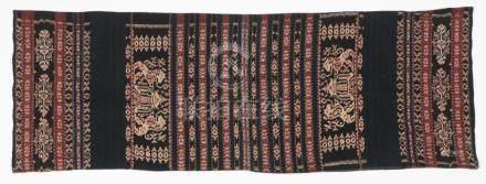 Indonesian Ikat Sarong, Early 20th C.