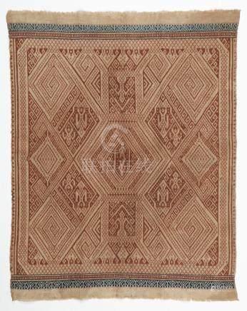 19th C. Kroe (Sumatra) Ships Cloth