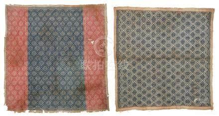 2 Antique Lombok Ceremonial Cloths, Indonesia