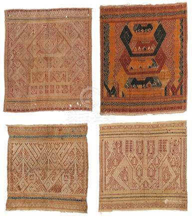 4 Old/Antique Indonesian Ships Cloths