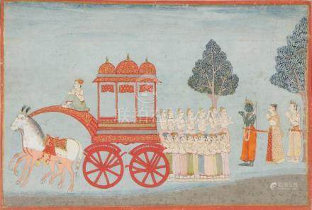 18th c. Indian Miniature Painting
