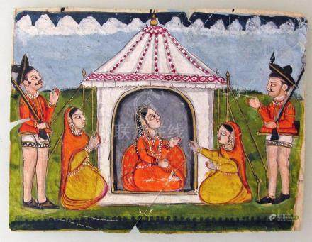 Indian Miniature Painting, Mid 19th C.