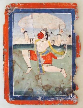 Indian Miniature Painting, Jaipur, Ca. 1860
