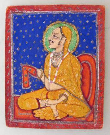 Early 19th C. Indian Miniature Paintings, Rajasthan