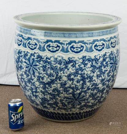 Chinese 19th Century Large Porcelain Bowl