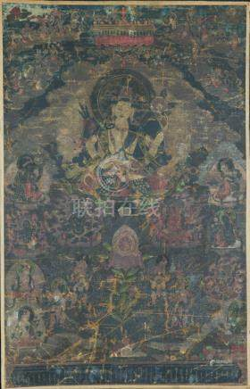 Chinese Tibetan 18th / 19th Century or earlier Thangka