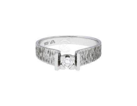 Solitär Ring, bemerkenswertes Modell, in ...