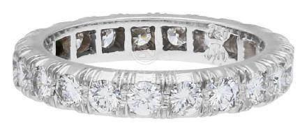 Diamant Alliance Ring, klassisch, signiert Walter ...