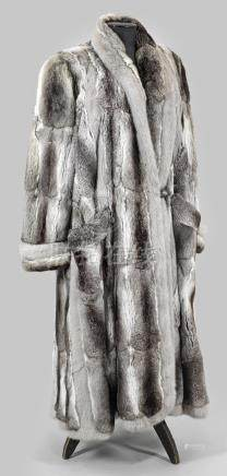 Luxeriöser Chinchilla-Mantel von Alfredo PaulyWadenlanger, glockenförmig geschn