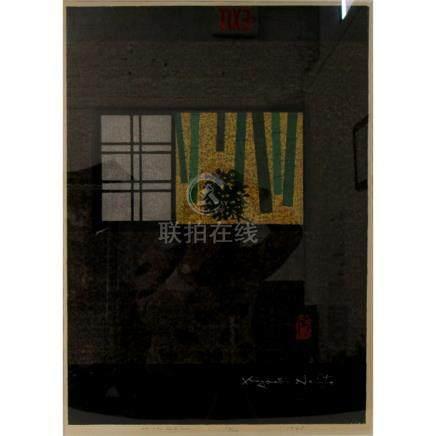 """SAITO, Kiyoshi (Japan, 1907-1997). """"Window"""""""
