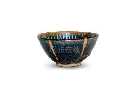A cizhou russet-streaked bowl Yuan dynasty