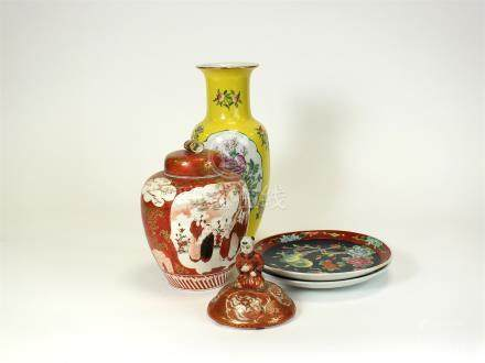 A collection of Chinese and oriental ceramics