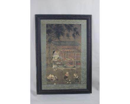 Chinese Painting and Frame