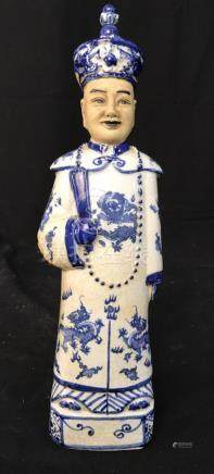 Antique Chinese Porcelain Ceramic Emporer