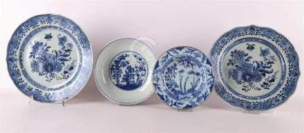A lot of Chinese porcelain, Kangxi and Qianlong 18th century