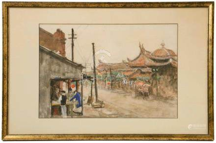 1920S CHINESE WATERCOLOR