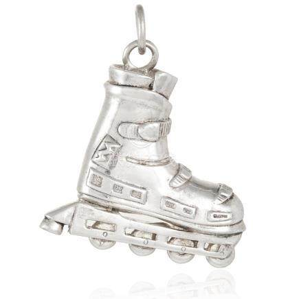 A ROLLERBLADE CHARM, TIFFANY in sterling silver,