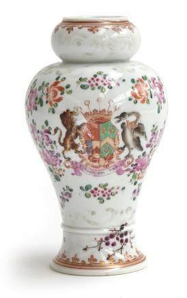 A Samson famille rose gourd-shaped vase, 15cmH Provenance: from the estate of Elizabeth Pepys-