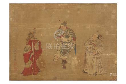 CHOU YING (follower of, 1498 – 1552)