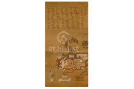 CHOU YING (attributed to, circa 1494 – 1552)