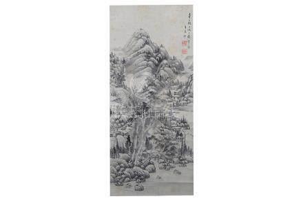 WANG YUANQI (follower of, 1642 – 1715)